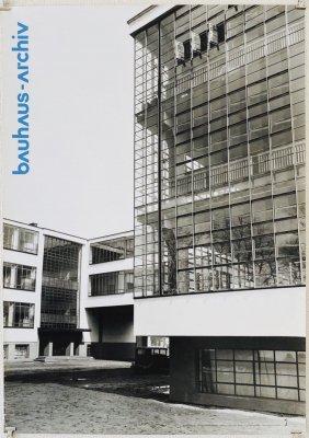 バウハウス ポスター<br>Bauhaus Archiv<br>Lucia Moholy