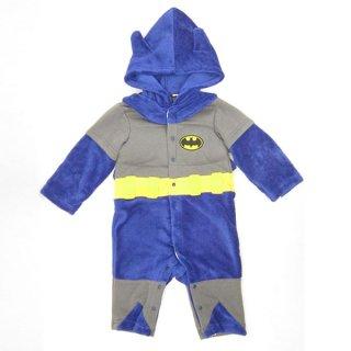 店内全品30%OFF ログインで バットマン なりきり きぐるみカバーオール (コスチューム/ベビー服) 95cm (BAOTMAN) ベビー用品