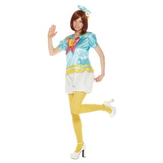 会員様限定50%OFF対象商品! ディズニー コスチューム 大人女性用ドナルドシャツモコモコパンツパステルカラー仮装