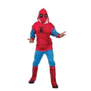 店内全品30%OFF ログインで マーベル コスチューム 大人用 スパイダーマンホームカミング ホームメイドスーツ