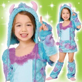 店内全品30%OFF ログインで ディズニー コスチューム 子供 女の子用 トドラーサイズ サリー モンスターズユニバーシティ ワンピース 仮装