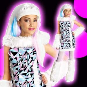 店内全品30%OFF ログインで モンスターハイ コスチューム 子供 女の子用 Sサイズ アビーボミナブル 仮装 883028136254