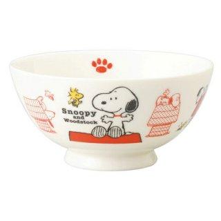 店内全品30%OFF ログインで スヌーピー Snoopy's house NB茶碗 (ちゃわん/食器) スヌーピーズハウスシリーズ SNOOPY