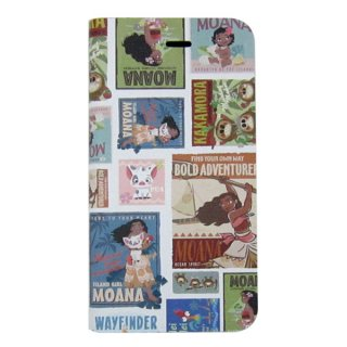 会員様限定50%OFF対象商品! モアナと伝説の海 フリップカバー (手帳型 iPhone 7 対応) ポスター ディズニー