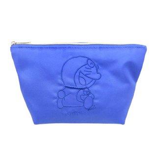 店内セール開催中!20%オフ対象商品 ドラえもん コスメポーチ (化粧ポーチ/小物入れ) ネイビー I'm Doraemon (ORDR)