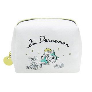 店内セール開催中!10%オフ対象商品ドラえもん ミニミニポーチ (小物入れ) アイボリー I'm Doraemon (ORDR)