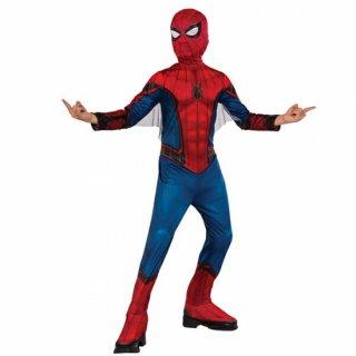 店内全品30%OFF ログインで MARVEL スパイダーマン ホームカミングコスチューム 子ども用 L