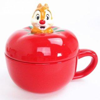 店内セール開催中!10%オフ対象商品 ディズニー チップ&デール デール トマトスープカップ マグ キッチンウエア グッズ