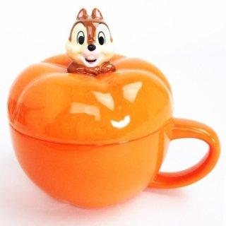 店内セール開催中!10%オフ対象商品 ディズニー チップ&デール チップ かぼちゃスープカップ マグ キッチンウエア グッズ