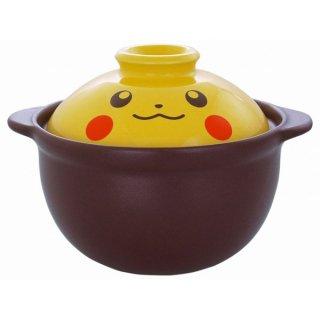 店内セール開催中!20%オフ対象商品 一人用土鍋<1>ピカチュウフェイス
