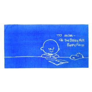 店内全品30%OFF ログインで スヌーピー のびのび ピローケース (枕カバー/枕カバー/寝具) ブルー スタディシリーズ (ORSN)