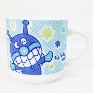 アップ ばいきんまん 染付マグ (マグカップ) キャラクター染付食器シリーズ (アンパンマン) キッチン用品