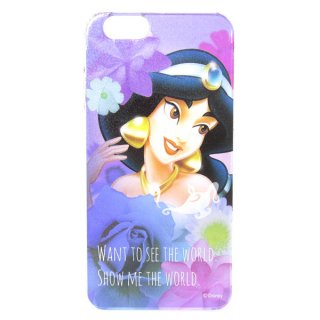 店内全品30%OFF ログインで ジャスミン シェルジャケット (アイフォンケース iPhone 6/6s対応) キャラクターオーバーレイ (アラジン) ディズニー モバイル用品