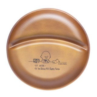 PEANUTSスヌーピーワンプレート STUDY チャーリー&スヌーピお皿(MCOR)