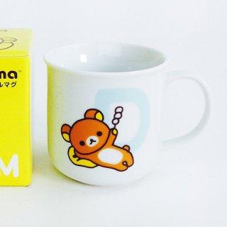 店内セール開催中!10%オフ対象商品リラックマ イニシャルマグ D 日本製 食器 グッズ  (MCOR)