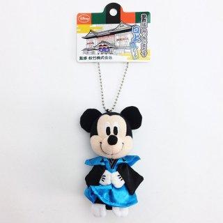 店内全品30%OFF ログインで ディズニー ミッキーマウス 歌舞伎マスコット 口上 グッズ