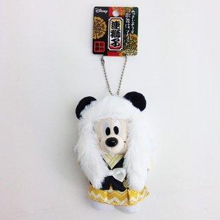 店内セール開催中!20%オフ対象商品 ディズニー ミッキーマウス ボールチェーン マスコット 連獅子 白 グッズ
