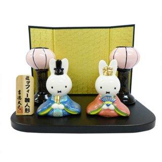 店内セール開催中!20%オフ対象商品 雪洞付きミニひな人形 (ミッフィー) キャラクター