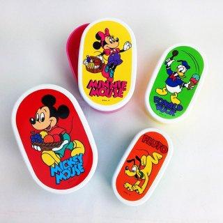 店内セール開催中!20%オフ対象商品 ディズニー ミッキーマウス フレンド 4Pランチボックス 日本製 グッズ
