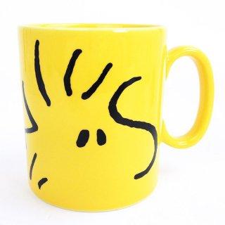 店内セール開催中!20%オフ対象商品 ピーナッツ スヌーピー ビッグマグシリーズ ウッドストックフェイス 500ml マグカップ
