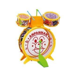 店内セール開催中!10%オフ対象商品アンパンマン うちの子天才 おおきなドラムセット ドラム グッズ 子ども おもちゃ