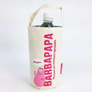 店内セール開催中!10%オフ対象商品 BARBAPAPA バーバパパ ボトルカバー ロゴ グッズ