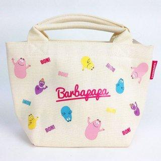 店内セール開催中!10%オフ対象商品 BARBAPAPA バーバパパ ランチバック ファミリー グッズ
