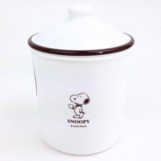 店内セール開催中!10%オフ対象商品SNOOPY スヌーピー ラウンドストッカーM 容器 グッズ500ml
