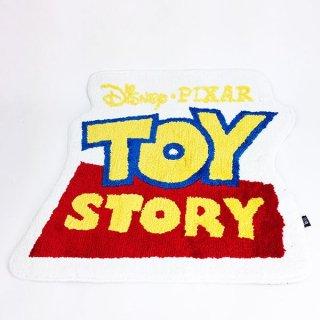 店内セール開催中!20%オフ対象商品 ディズニー トイ・ストーリー ロゴ ダイカットマット グッズ