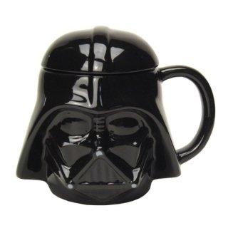店内セール開催中!10%オフ対象商品 ダース・ベイダー 3Dマグカップ (蓋付きマグ) フェイス スター・ウォーズ