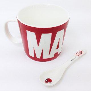 店内セール開催中!10%オフ対象商品マーベル MARVEL スプーン付きマグ マグカップ  (MCOR)