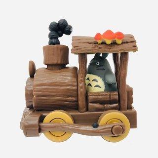 店内セール開催中!10%オフ対象商品ジブリ となりのトトロ プルバックコレクション トトロの手作り機関車 グッズ