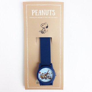 店内セール開催中!20%オフ対象商品 ピーナッツ スヌーピー ラバーポップウォッチ 腕時計 ネイビー グッズ