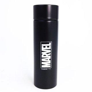 店内セール開催中!20%オフ対象商品 MARVEL マーベル ポケトル 水筒 ブラック グッズ