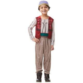 店内セール開催中!10%オフ対象商品ディズニー コスチューム 子供 男の子 女の子 用 Mサイズ アラジン シャツ パンツ 実写版アラジン Adult Aladdin