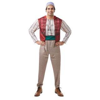 会員様限定50%OFF対象商品!ディズニー コスチューム 大人 男性用 スタンダードサイズ アラジン シャツ パンツ 実写版アラジン Adult Aladdin