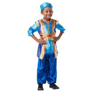 ディズニー コスチューム 子供 男の子 女の子用 Sサイズ ジーニー シャツ パンツ 実写版アラジン Child Genie