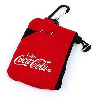 コカ・コーラ CARABINERPOUCHRDCOCACOLA ポーチ カラビナポーチ コカ・コーラ 赤 グッズ  (MCOR)