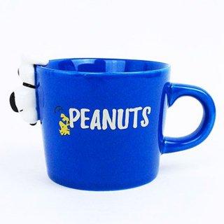 店内セール開催中!20%オフ対象商品SNOOPY スヌーピー マグカップ コップ BLUE グッズ