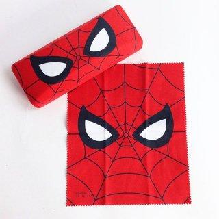 店内セール開催中!10%オフ対象商品マーベル スパイダーマン メガネケース&クロスセット メガネ入れ グッズ