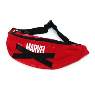 MARVEL  RD MARVEL ウエストポーチ バッグ レッド グッズ (MCOR)