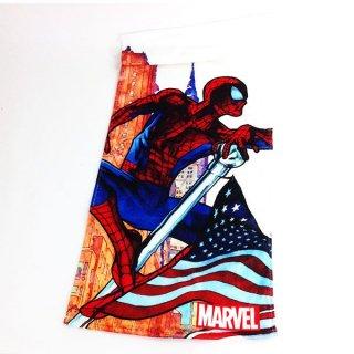 店内セール開催中!10%オフ対象商品MARVEL スパイダーマン ラージフラッグ フェイスタオル マーベル