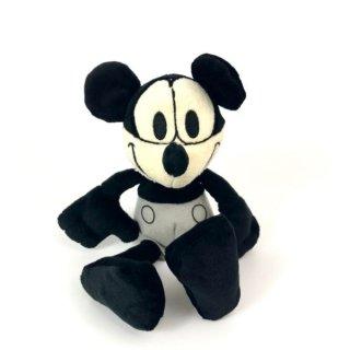 ディズニー ミッキーマウス ミッキーマウス プレーン・クレイジー ぬいぐるみ 黒