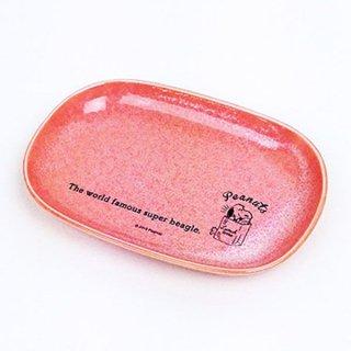 店内セール開催中!10%オフ対象商品スヌーピー オーバルプレート ランチタイム PK スヌーピー 皿 プレート ピンク グッズ