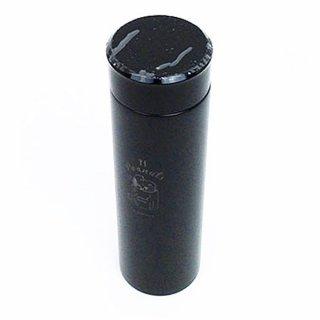 店内セール開催中!50%オフ対象商品スヌーピー ステンレスボトル ランチタイム ブラック 水筒 ステンレスマグ 黒 グッズ