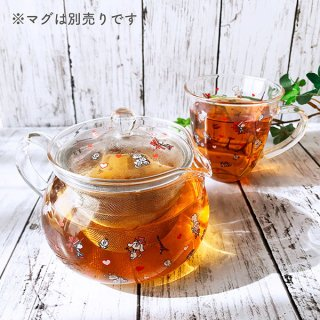 水森亜土 あどちゃん グッズ 耐熱ポット ティーポット(PWOR)