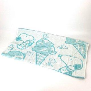 店内セール開催中!10%オフ対象商品PEANUTS スヌーピー ピローケース アイスクリーム スヌーピー タオル 枕カバー 水色 グッズ