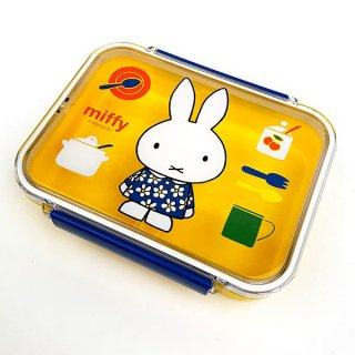 <img class='new_mark_img1' src='https://img.shop-pro.jp/img/new/icons15.gif' style='border:none;display:inline;margin:0px;padding:0px;width:auto;' />miffy ミッフィー 食洗器対応タイトウェア お弁当箱 ランチ用品 ランチBOX グッズ
