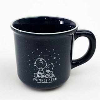 店内セール開催中!10%オフ対象商品PEANUTS SNOOPY マグカップ Twinkle Star GIFT マグ 食器 インテリア雑貨 青 グッズ  (MCOR)
