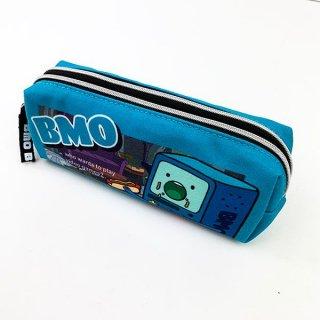 店内セール開催中!10%オフ対象商品アドベンチャー・タイム BMO Wファスナーペンポーチ ポーチ Wファスナー ペンケース  グッズ  (MCOR)